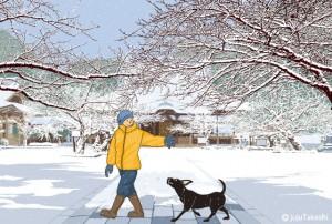 0058.雪の朝